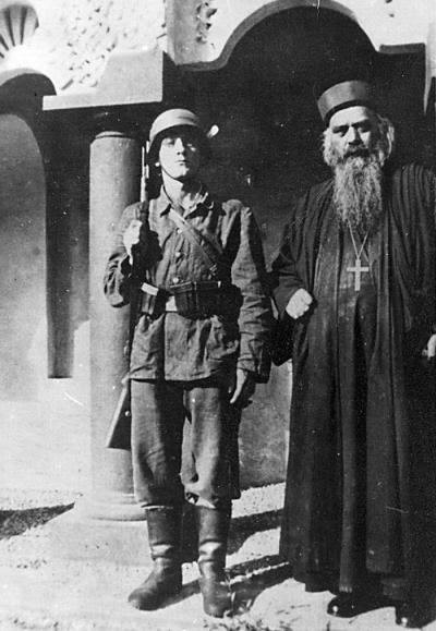 Резултат слика за свети владика николај и немачки војник