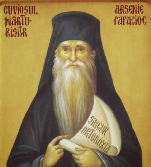 Резултат слика за Старац Арсеније Румунски: