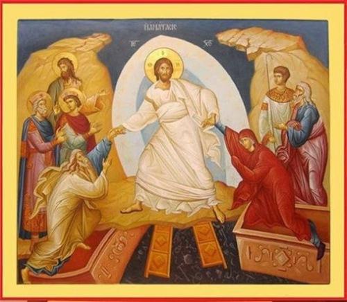 ИКОНА-ВАСКРСЕЊА-ХРИСТОВА
